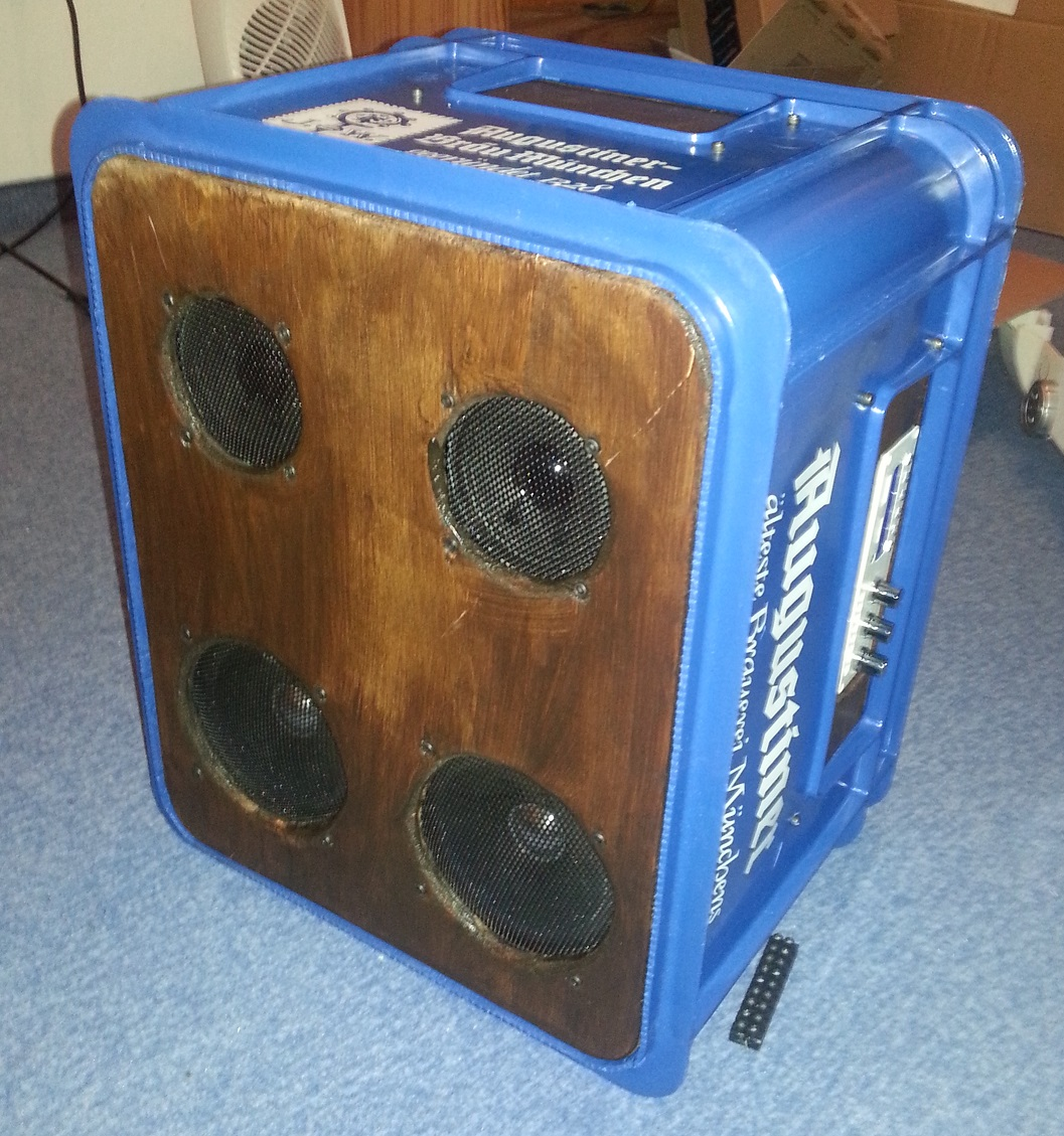 The Beer Crate Boombox