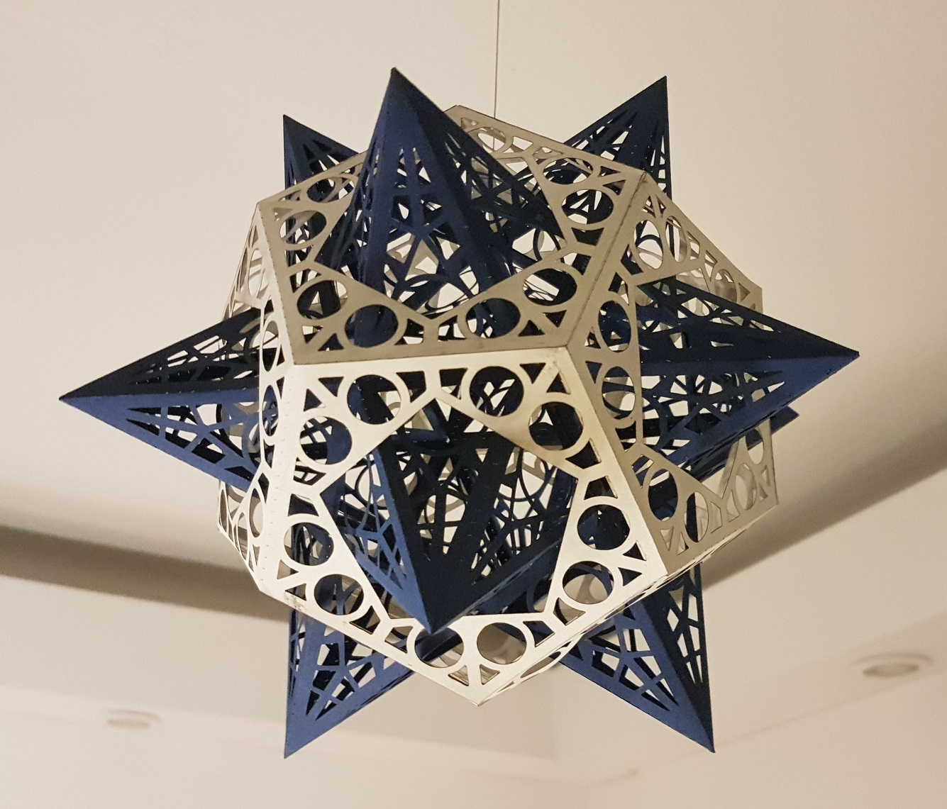 A Paper Christmas Star